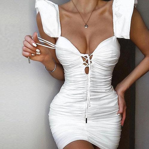 White heavens dress