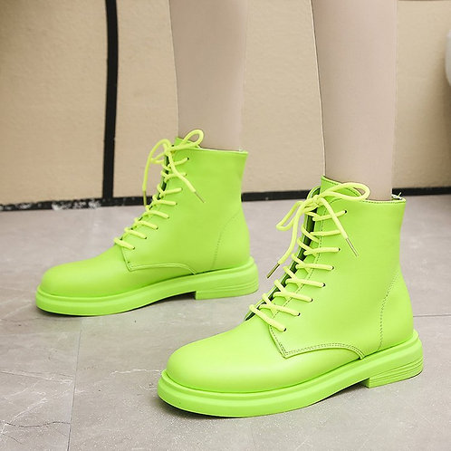 New neon boots