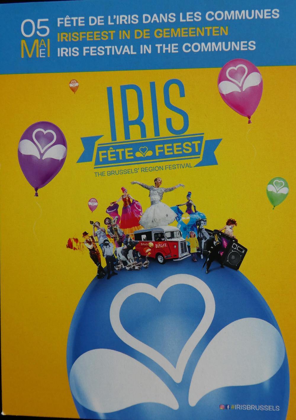 La Commune de Watermael-Boitsfort participe à la Fête de l'IRIS