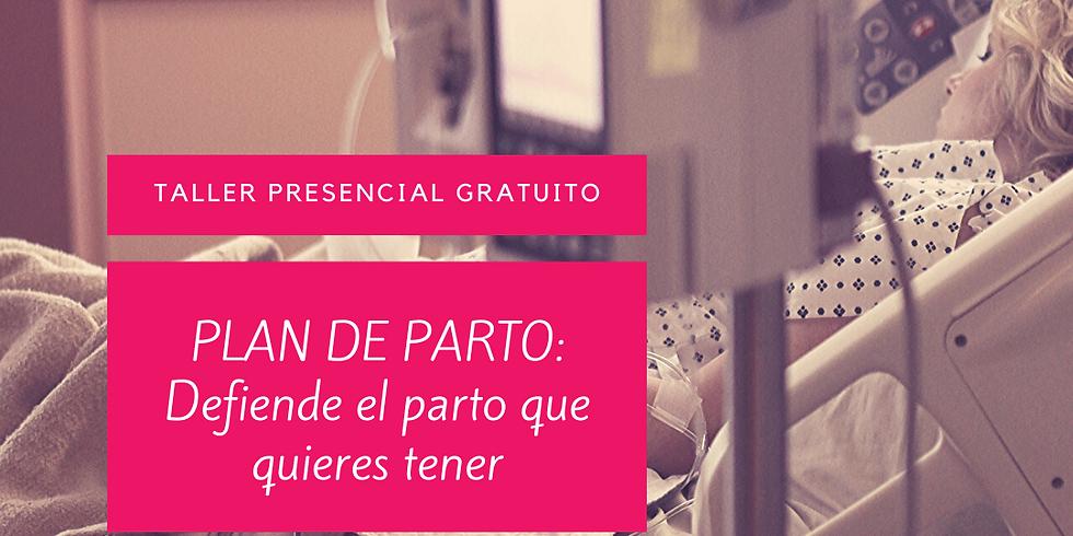 TALLER GRATUITO 'PLAN DE PARTO'