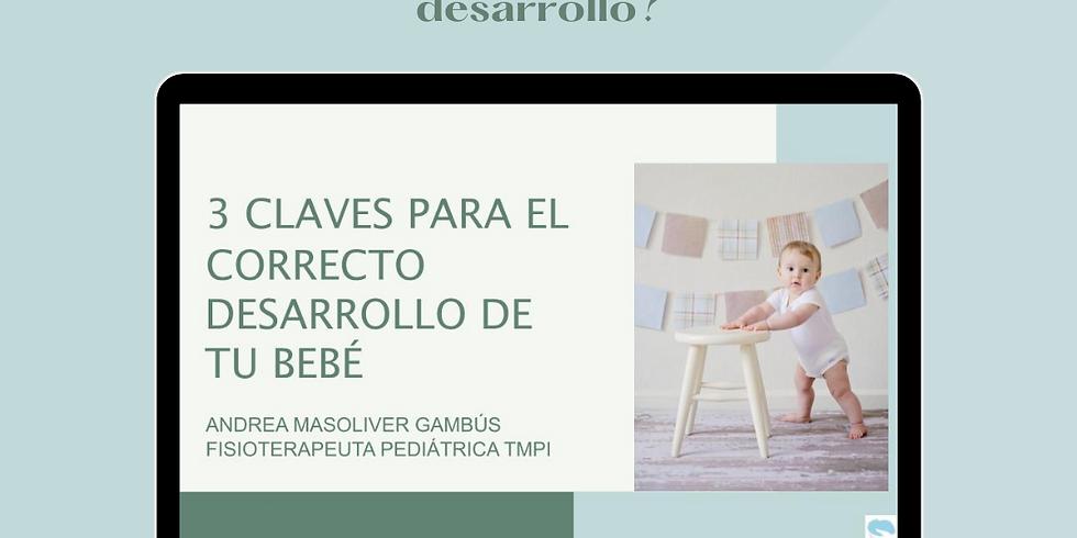 3 CLAVES PARA EL CORRECTO DESARROLLO DE TU BEBÉ