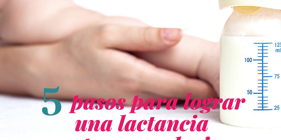 MASTERCLASS GRATUITA - 5 PASOS PARA LOGRAR UNA LACTANCIA MATERNA EXCLUSIVA