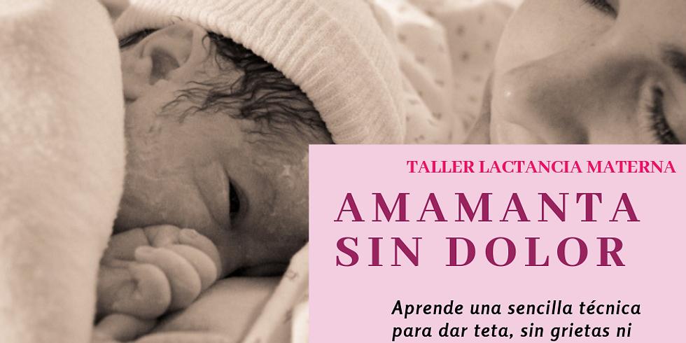 TALLER AMAMANTA SIN DOLOR Marzo 2019