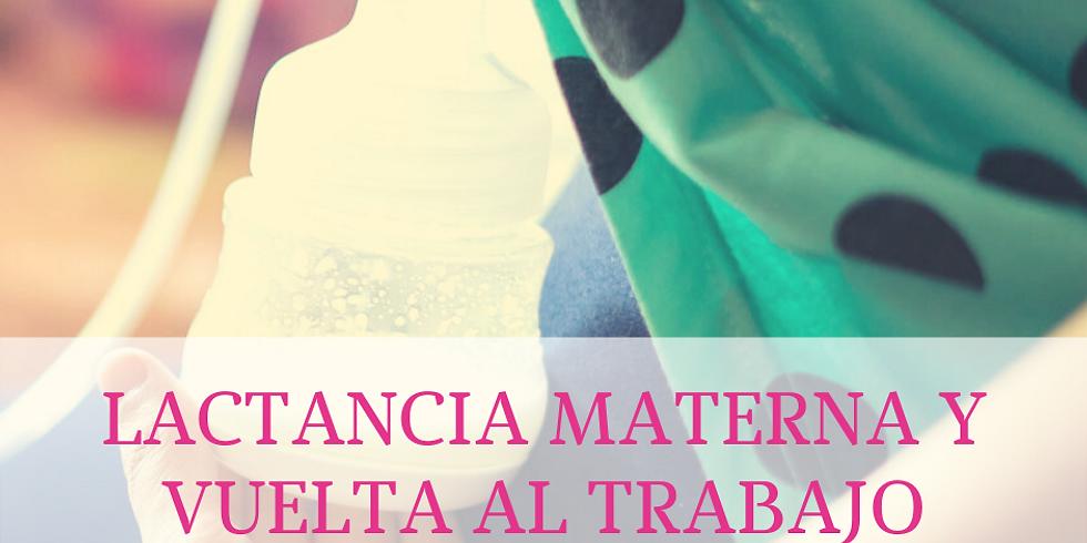 TALLER LACTANCIA Y VUELTA AL TRABAJO