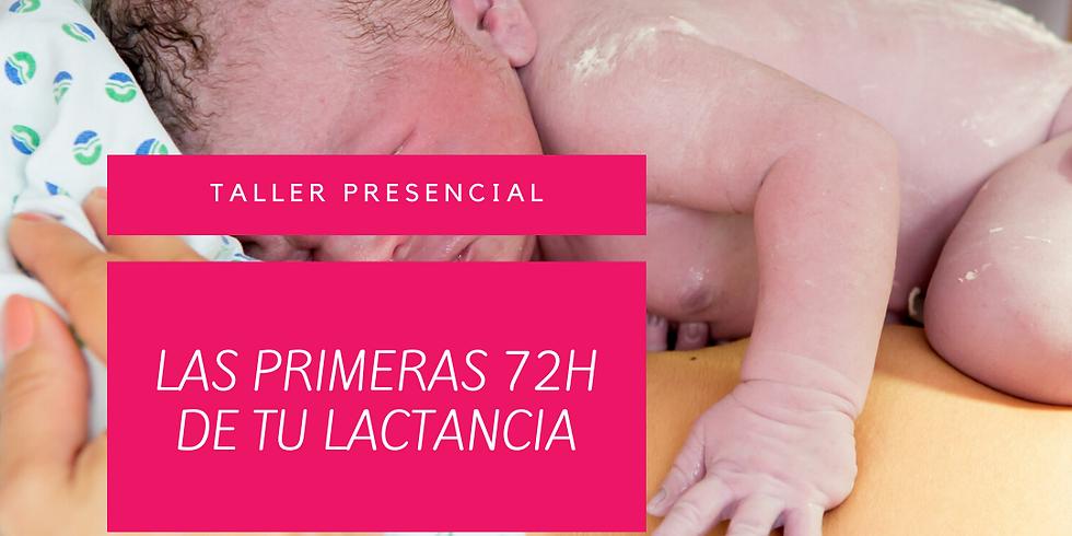 TALLER ONLINE 'LAS PRIMERAS 72H DE TU LACTANCIA'