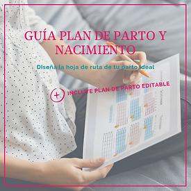 Guía gratuita Plan de parto y nacimiento - FisioLacta