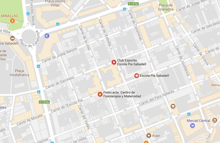 FisioLacta. Carrer Escola Pia, 141 08201 Sabadell