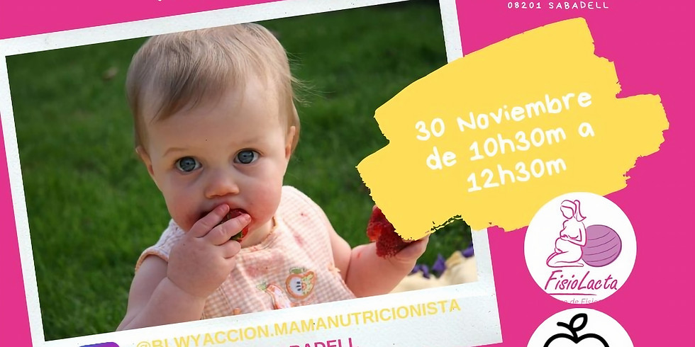 TALLER PRESENCIAL BABY LED WEANING + PRIMEROS AUXILIOS