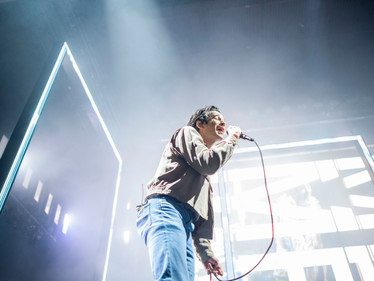 The 1975 invited fans to its abstract reality during its May 12th Cincinnati show