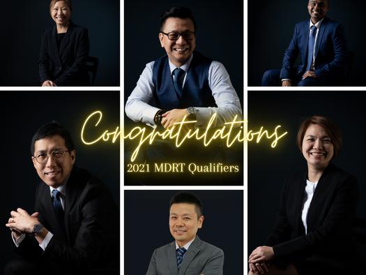 2021 MDRT Qualifiers