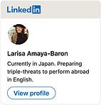 Larisa Amaya-Baron LinkedIN Badge.png