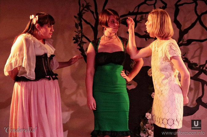 Stepmother trains her daughters