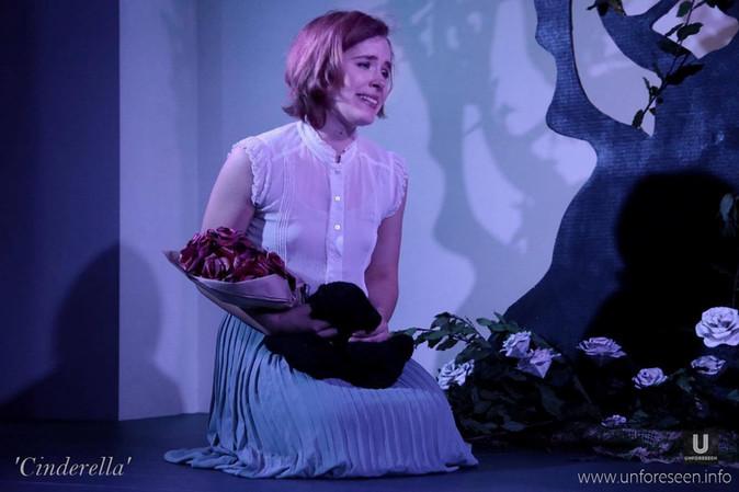 Cinderella visits her mother's grave