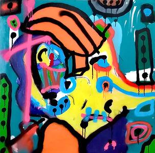 koala1 uwe gallaun, acrylic, painting, artist