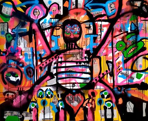 österreichheute uwe gallaun, acrylic, painting, artist