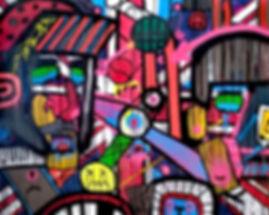jollybrexitweb uwe gallaun, acrylic, painting, artist