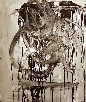 qu uwe gallaun, acrylic, painting, artist