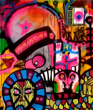 facebooks2 uwe gallaun, acrylic, painting, artist