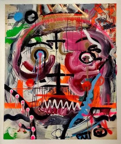 kingrad, dinstl, uwe gallaun, acrylic, painting, artist