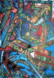 uwe gallaun gardenia acrylic on canvas