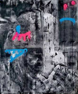 sth2 uwe gallaun, acrylic, painting, artist