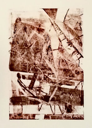 enigma, uwe gallaun, lithography, painting, artist