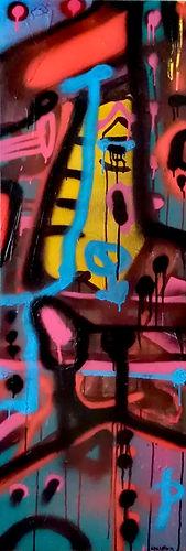 h&orangeweb uwe gallaun, acrylic, painting, artist