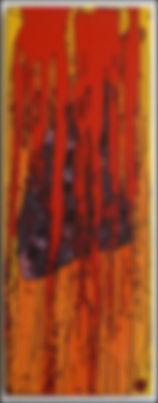 uwe gallaun lung acrylcic on canvas