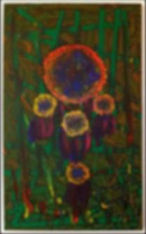 uwe gallaun dreamcatcher acrylcic on canvas