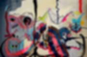 mountain dew, dinstl, uwe gallaun, acrylic, painting, artist