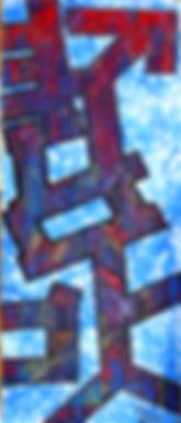 uwe gallaun heaven  acrylic on canvas