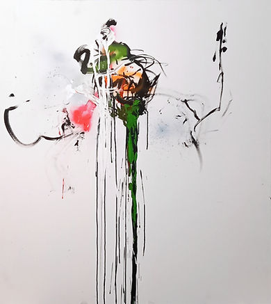 headsuphigh, uwe gallaun, acrylic, painting, artist