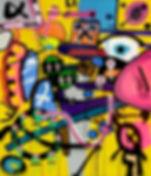 porschefix, uwe gallaun, acrylic, painting, artist