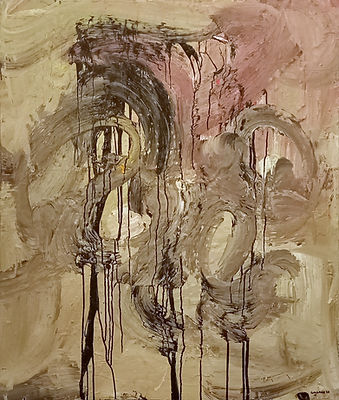 otl uwe gallaun, acrylic, painting, artist