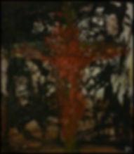 uwe gallaun yeezus acrylic on canvas