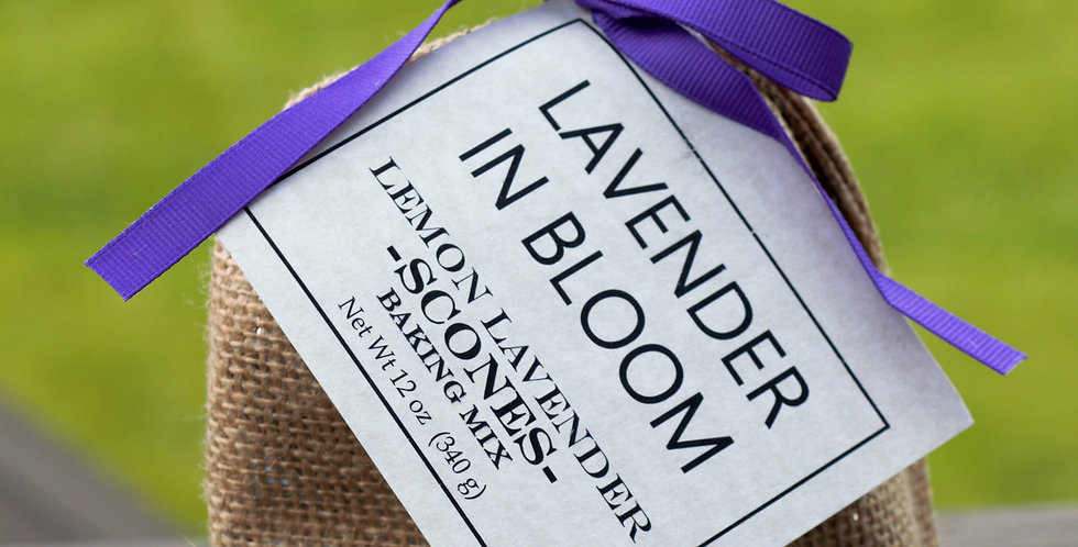 Lemon Lavender Scones Baking Mix, 12 oz.