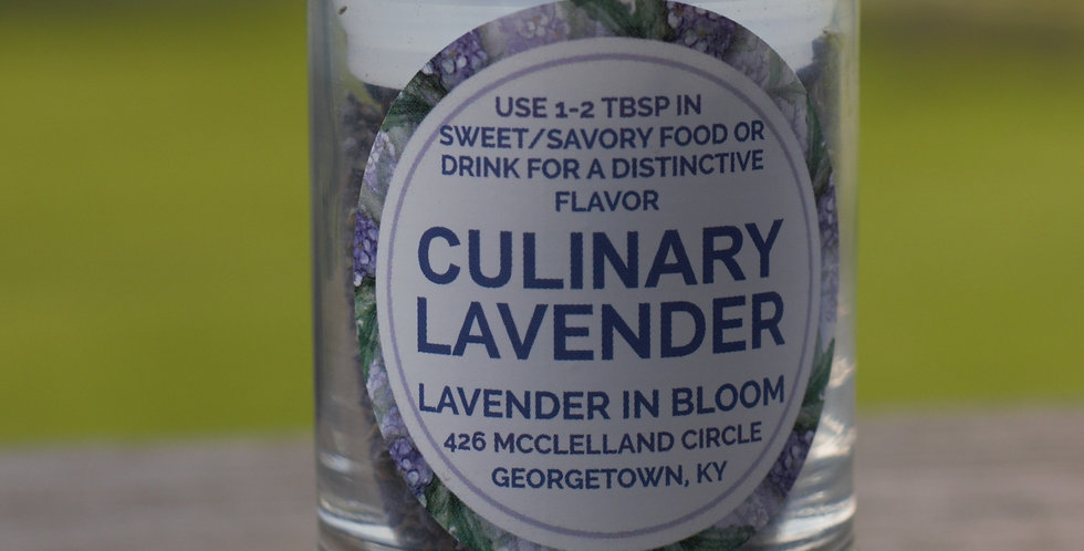 Lavender Culinary Buds