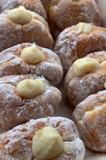 柚子カスタードドーナツ YUZU custard cream doughnuts