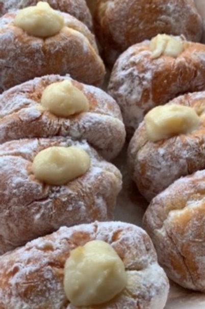【shop collection】柚子カスタードドーナツ YUZU custard cream doughnuts