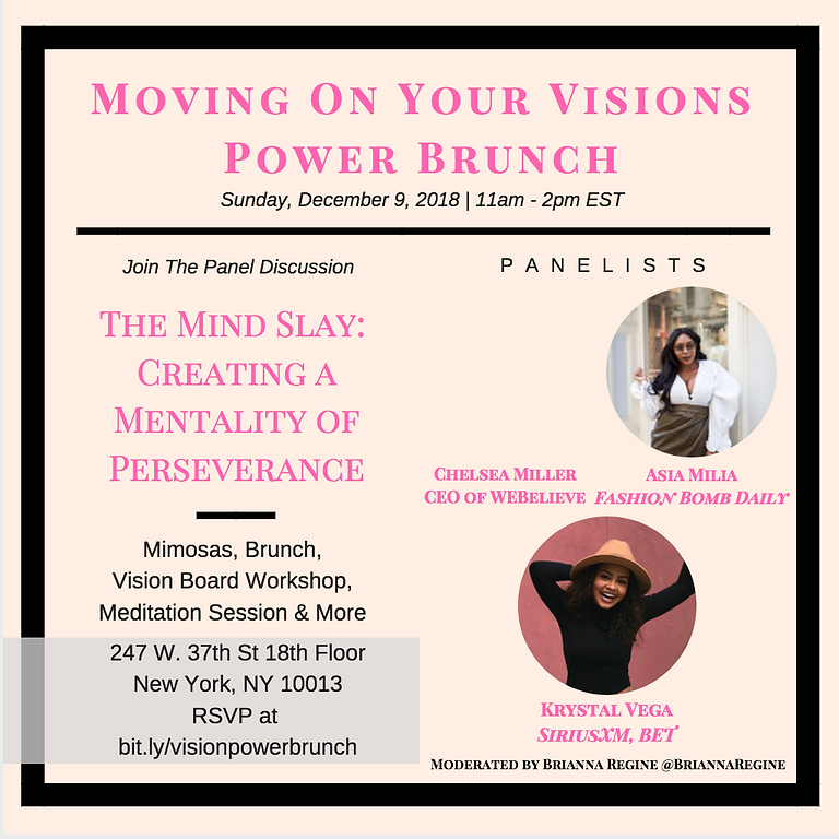 Moving On Your Visions Power Brunch 2018