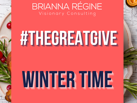 Give Yourself A Break (Wintertime Self-care)