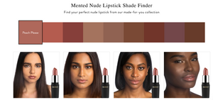 Mented Nude Lipstick Shade Finder