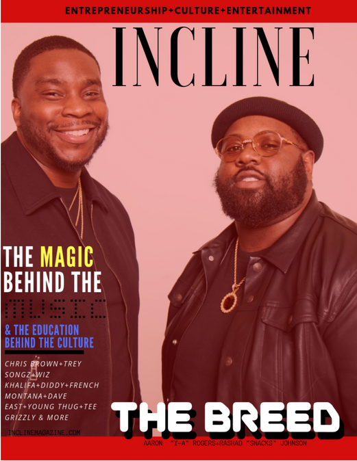 The Breed Entertainment Covers Incline Magazine
