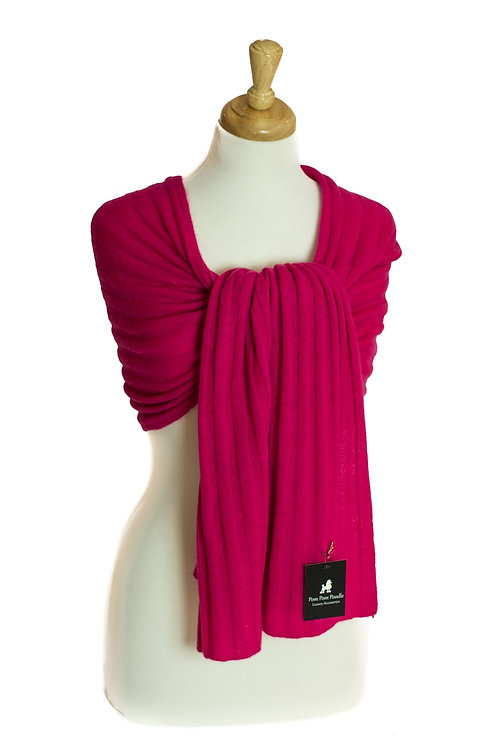 'Molly' Scarf - Fuschia