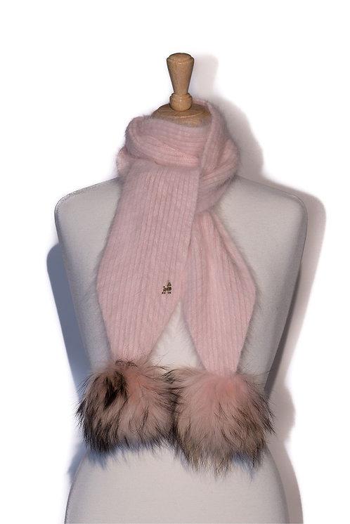 'Jenna' Scarf - Light Pink