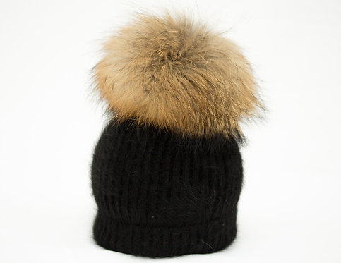 Natural - Giant XL Individual Detachable Pompom