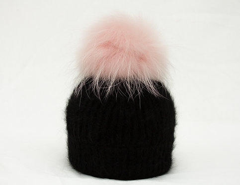 Pink - Individual Detachable Pompom