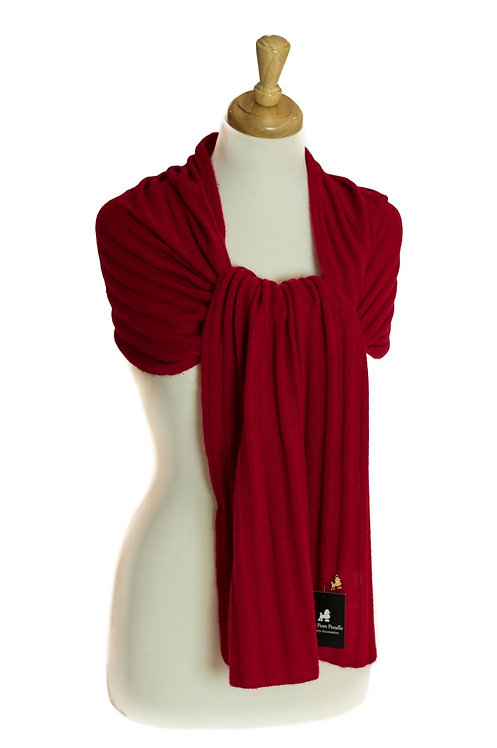 'Maddie/Molly' Scarf - Red