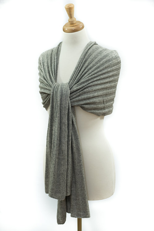 'Maddie/Molly' Scarf - Light Grey