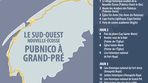 LE SUD-OUEST NOUVELLE-ÉCOSSE PUBNICO À GRAND-PRÉ